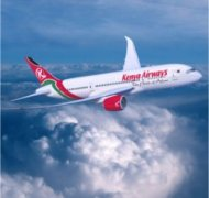 boeing airplane from kenya airways
