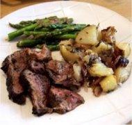 roasted lamb with potatoes, a kenya food recipe