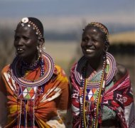 women from the masai tribe, kenya
