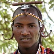 masai warrior, kenya