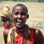 masai woman, kenya