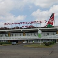 moi international airport, mombasa, kenya