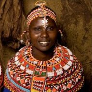 woman from the Samburu tribe