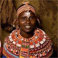 woman from the Samburu tribe