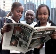 standard newspaper of kenya, after it's office was raided