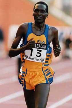 Kenyan runner Paul Tergat