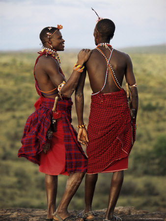samburu warriors, kenya