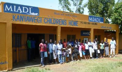 Kanyawegi Children's Home frontage
