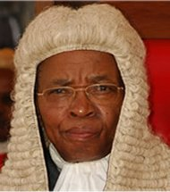 Kenyan chief justice, Evan Gicheru