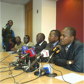 kenyan press conference, nairobi