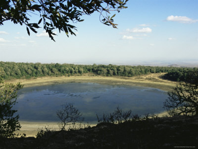 lake paradise, marsabit national park, kenya