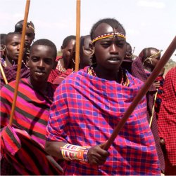 traditional masai clothing