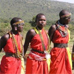 Masai warriors, Kenya