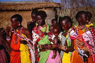 masai women, masai mara, rift valley, kenya