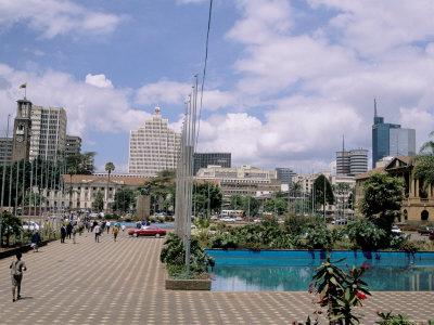 city square, nairobi, kenya