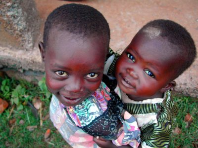 orphanaged children, kenya