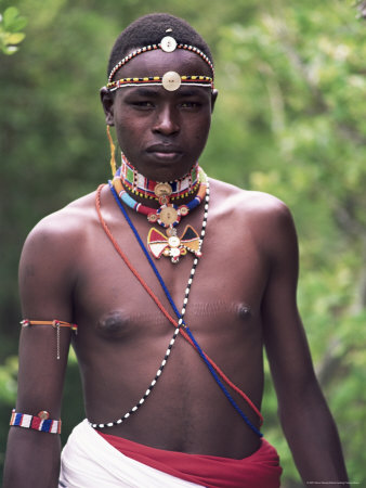 samburu warrior, kenya