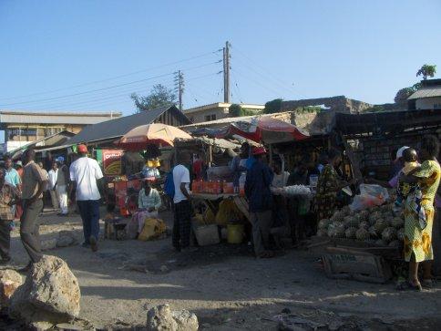 Mombasa street scene