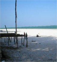 diani beach, near mombasa, kenya