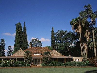 Karen Blixen's former house in Nairobi