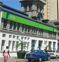 An office of the Kenya Commercial Bank