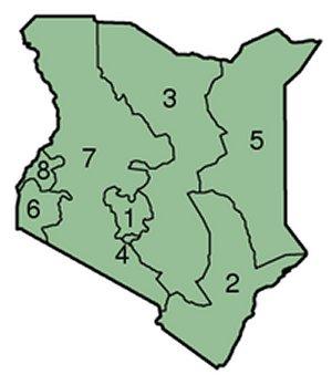 Kenya provinces