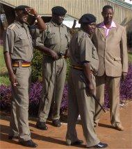 Kenyan military in Nairobi