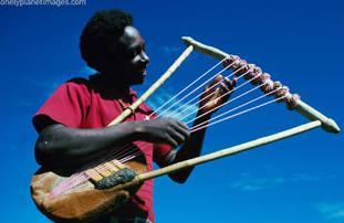 local musician in Kebirigo, Kenya