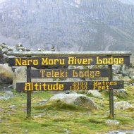 naro moru lodge up mount kenya