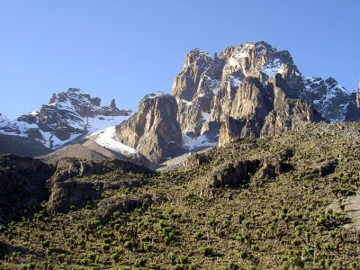 mount kenya, highest mountain of kenya