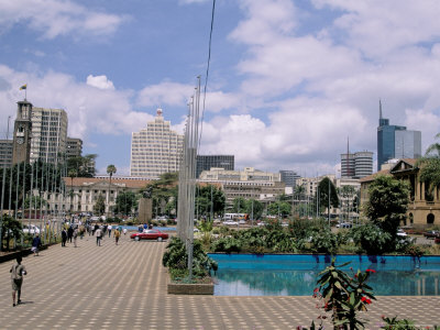 nairobi city square, kenya