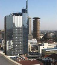 Nairobi's skyline