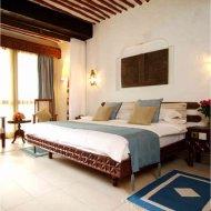 a room of the serena beach hotel, mombasa, kenya