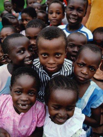 school children, mombasa, kenya