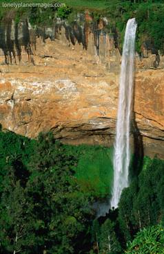 sipi falls, mount elgon national park, kenya