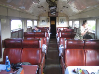 Train from Mombasa to Nairobi