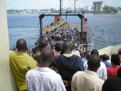 Ferry between Mombasa and Tiwi and Diani Beach, Kenya