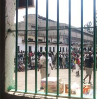 View from a Kenyan prison cell